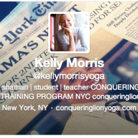 Kelly Morris is a Shaman /// Apparently the World Really Did End in 2012