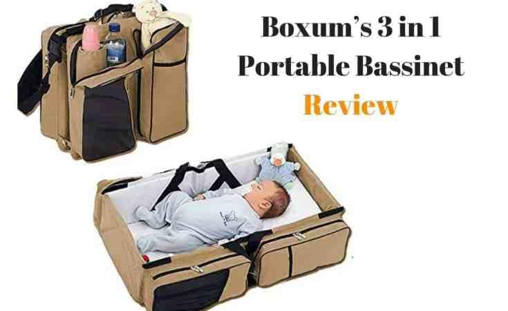 Boxum's 3 in 1 Portable Bassinet