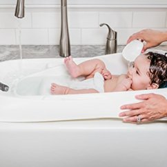 Kitchen Sink Baby Bath Tub Rustic Faucet Safety And Ease The 4moms Infant Review Swag Since Is Designed To Fit Most Single Or Double Sinks Parents Can Still Enjoy Of Classic Baths