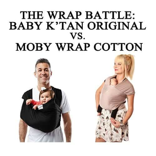 Baby Wrap Battle Baby K Tan Original Vs Moby Wrap Cotton The Baby