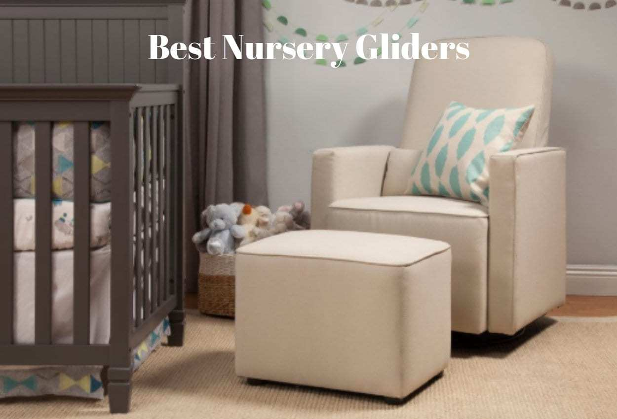 Baby Nursery Chairs The Top 7 Best Nursery Gliders You Ll Both Love The Baby Swag