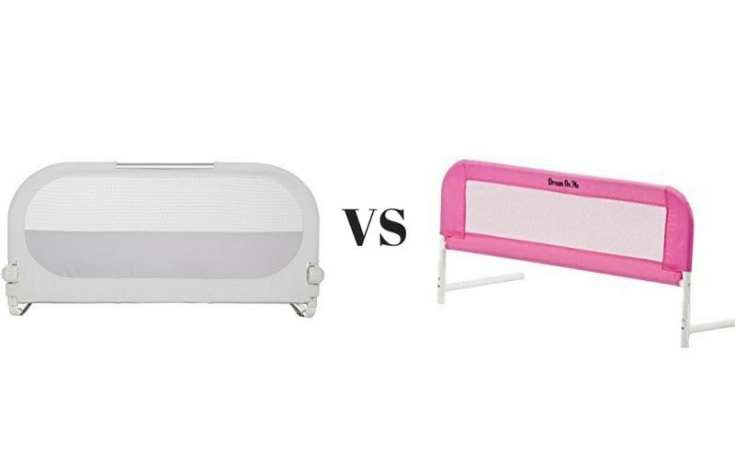 Munchkin Sleep Bed Rail Vs Dream On Me Mesh Security Crib