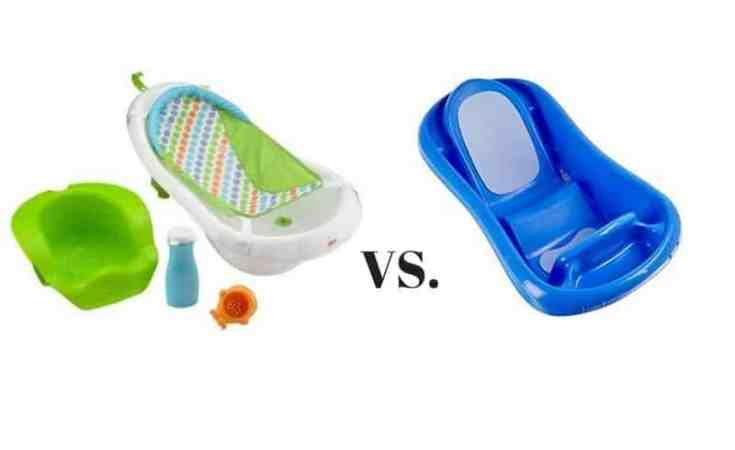 Fisher Price 4-in-1 Sling N Seat Tub vs. The First Years Sure Comfort Deluxe Newborn To Toddler Tub