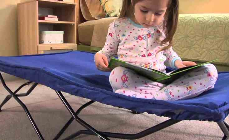 The Full Regalo My Cot Portable Toddler Bed