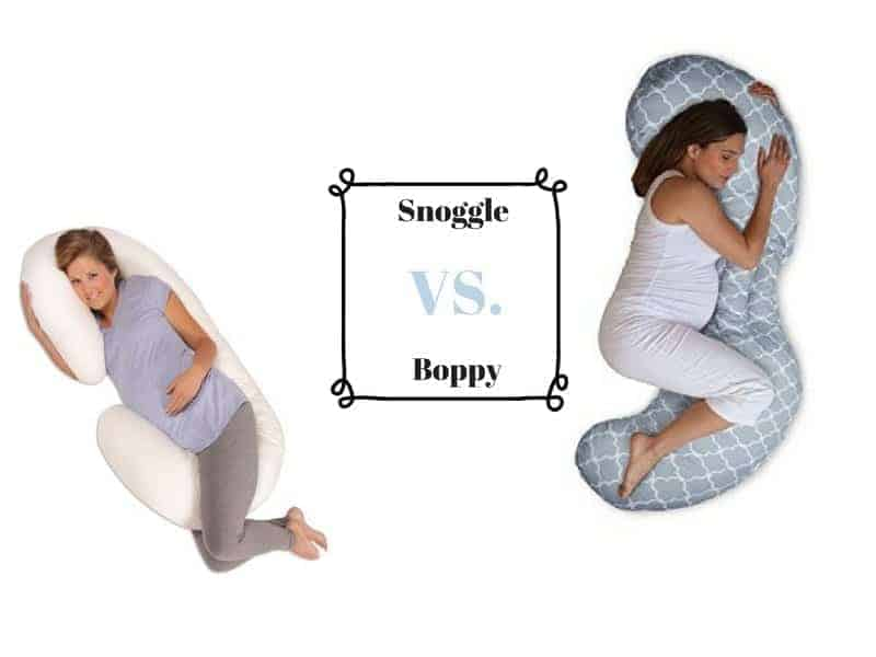 snoogle vs boppy pillow which should