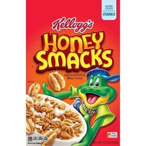Kellogg's Honey Smacks Cereal