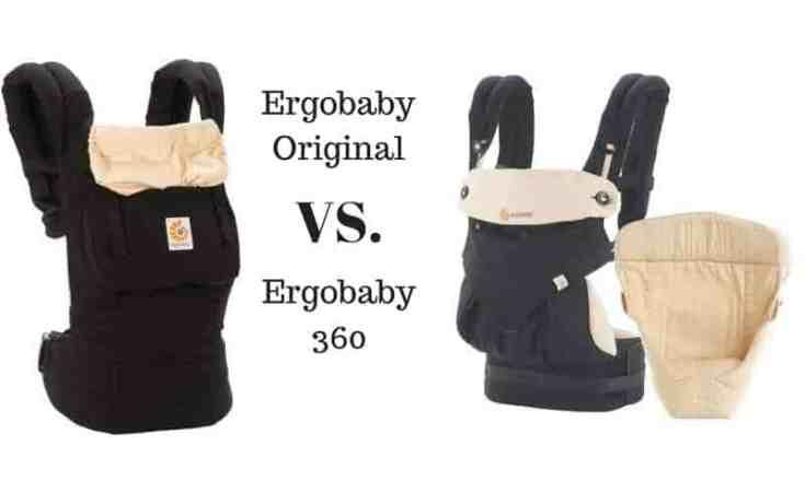 ergobaby original vs. 360