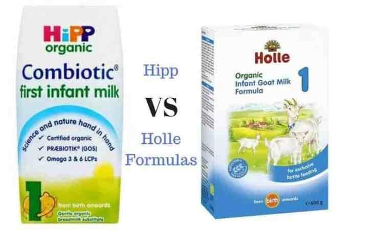 hipp vs holle formulas
