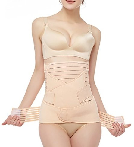 02a6454e77 The 3-in-1 Postpartum Support Recovery Girdle Corset Belly Waist Pelvis Belt  Shapewear Belly Wrap