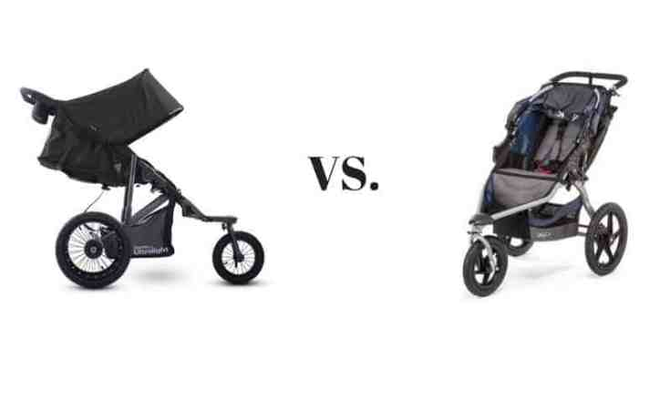 joovy zoom 360 vs bob revolution 360