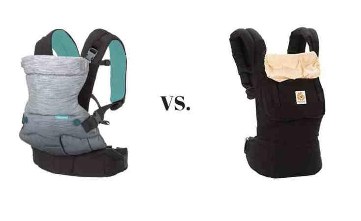 129aa1f8adb Infantino Go Forward Evolved Ergonomic Carrier vs Ergobaby Original  Ergonomic Multi-Position Baby Carrier