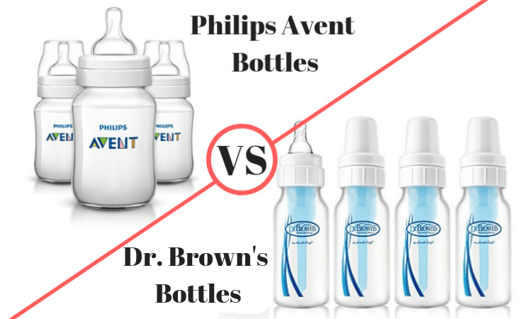 Dr Brown S Vs Philips Avent Bottles Features