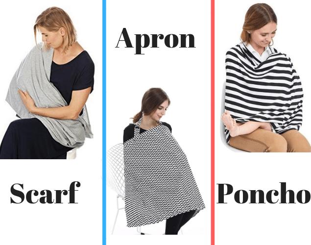 scarf apron poncho breastfeeding cover