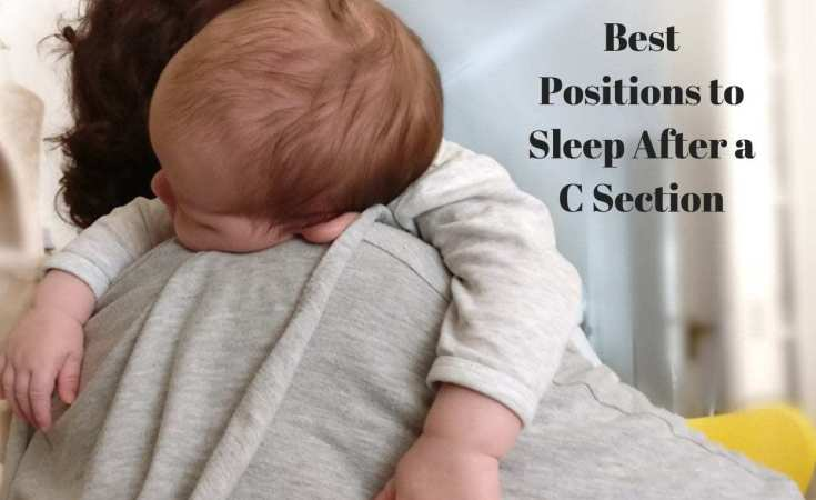 Best Positions to Sleep after a C Section