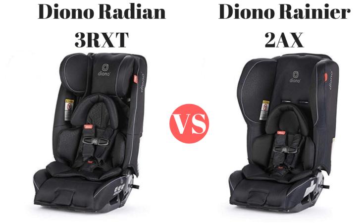 Diono Radian vs. Diono Rainier