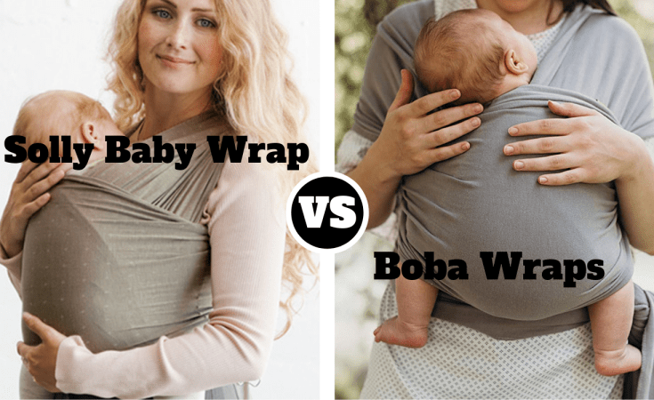 Solly Baby Wrap vs Boba Wraps