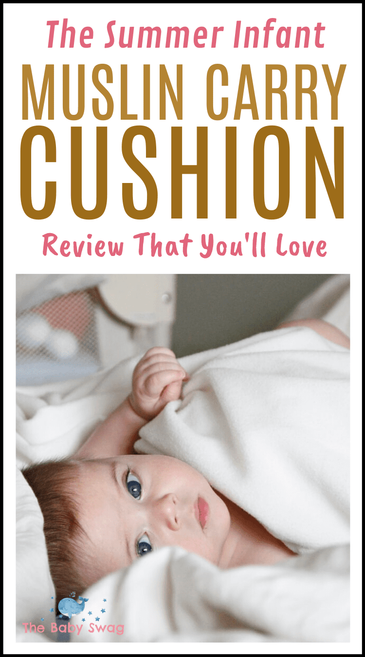 The Summer Infant Muslin Carry Cushion Review That You'll Love