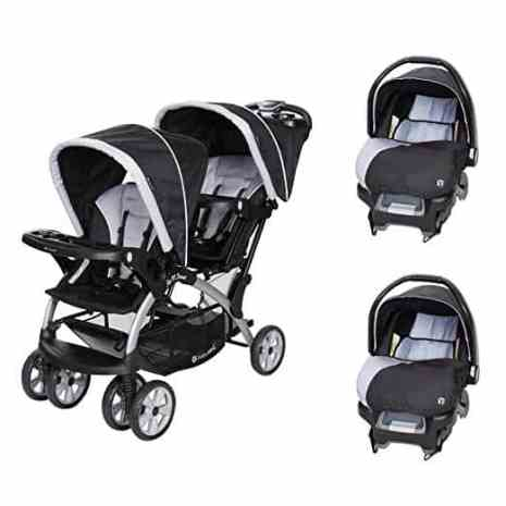 Baby Trend Sit 'N Stand Tandem Stroller Travel System