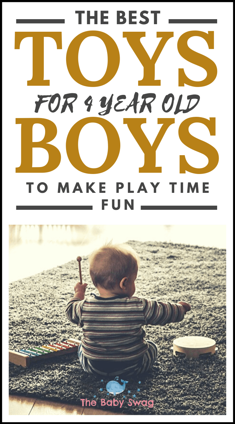 The Best Toys For 4-Year-Old Boys To Make Play Time Fun