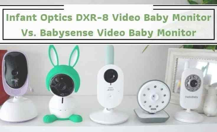 Infant Optics DXR-8 Video Baby Monitor Vs. Babysense Video Baby Monitor