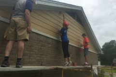 Finishing siding