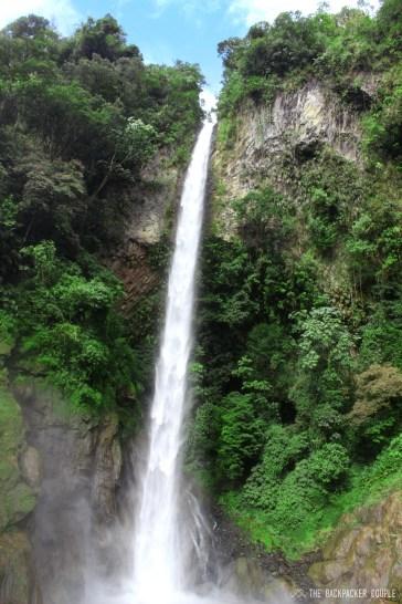 Miscay Waterfall - Cascata Miscay - Baños