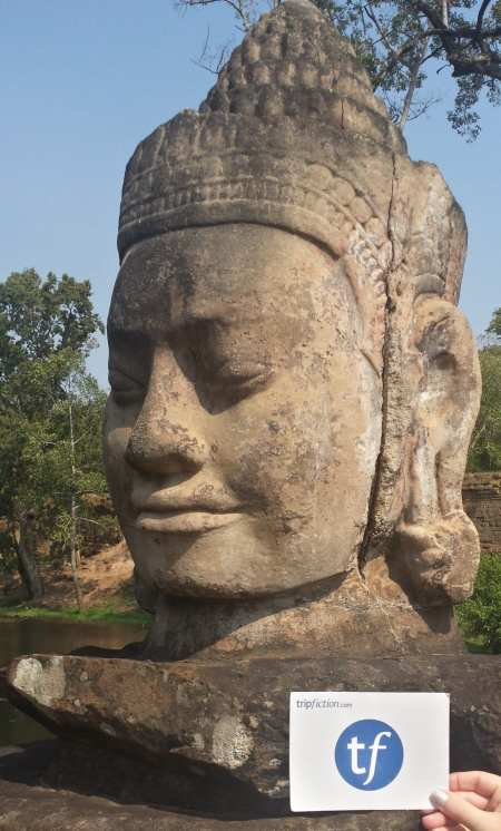 Trip Fiction Bayon Temple Cambodia The Backpacking Housewife