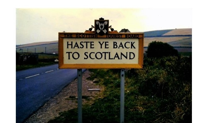 Haste Ye Back to Scotland