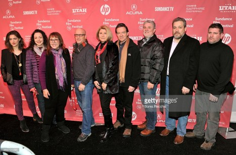 """attends """"Going Clear: Scientology, Hollywood, And The Prison Of Belief"""" Premiere during the 2015 Sundance Film Festival at The Marc Theatre on January 25, 2015 in Park City, Utah."""