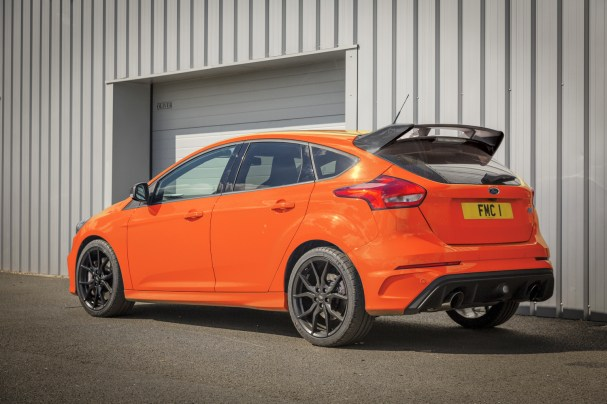 Based on RS Edition with unique Deep Orange exterior body colour