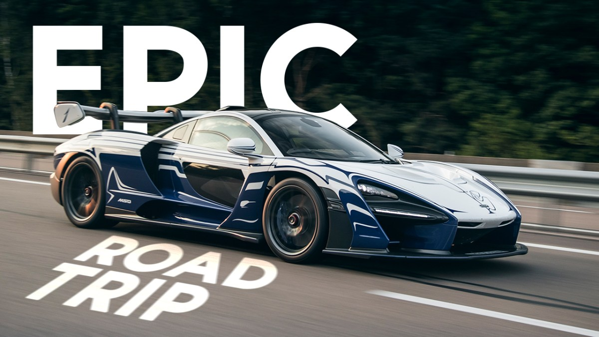 The First McLaren Senna Takes The Ultimate Road Trip
