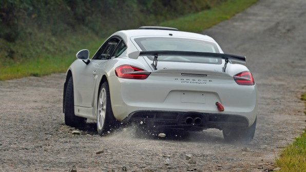 Cayman GT4 Rally Car
