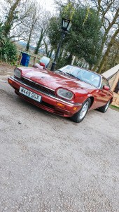 Jaguar XJS Caffeine and machine