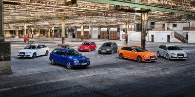 Twenty-five years of Audi RS