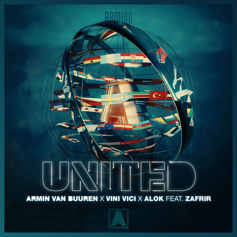 ARMIN VAN BUUREN, VINI VICI AND ALOK SET OUT TO UNITE THE WORLD WITH HUGE FESTIVAL SMASH: 'UNITED' (FEAT. ZAFRIR) ile ilgili görsel sonucu