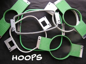 Machine hoops