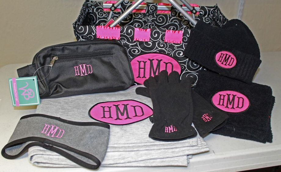 Gift package black n pink
