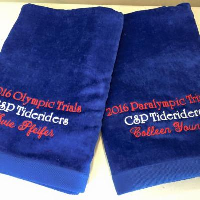 Olympic towels