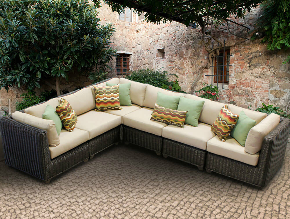 best outdoor sectional furniture