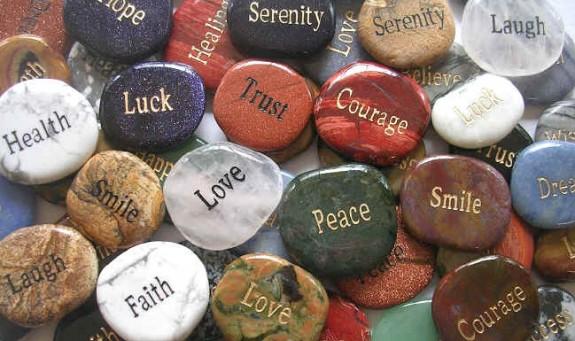 Inspirational Word Stones  The Backyard Naturalist