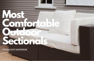 outdoor sectionals for backyard