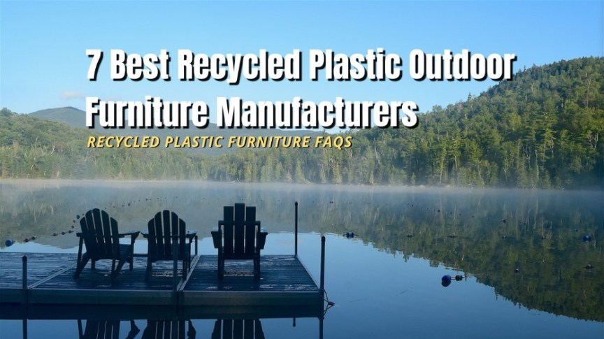 best recycled furniture manufactures