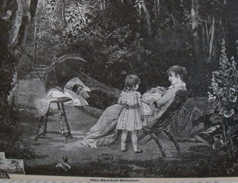 Illustration Our Home or, The Key to a Nobler Life Sargent, C. E.; The Shaded Retreat