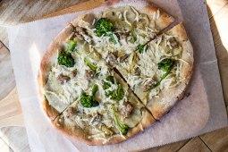 Broccolina Pizza at Pala in New York City