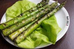 Grilled Asparagus at Bar Deco in Washington, D.C.