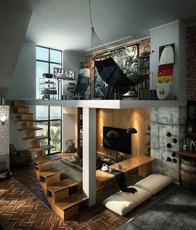 Badchix Bachelor Pad Design Ideas 1