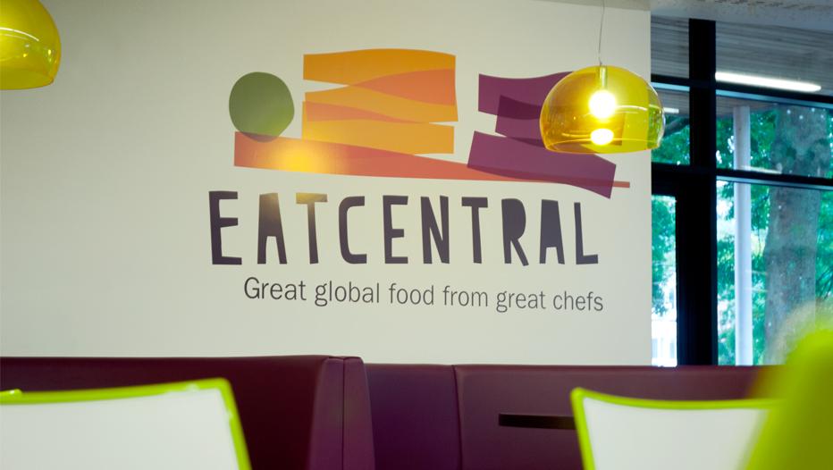 Eat Central Sign