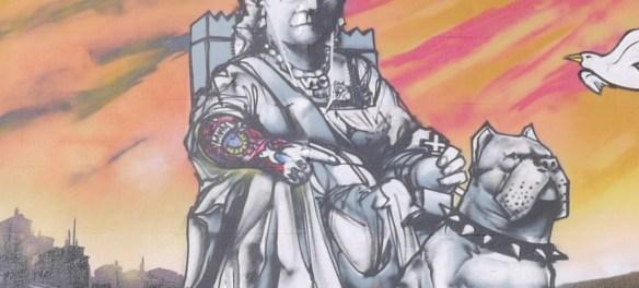 Queen Victoria Mural