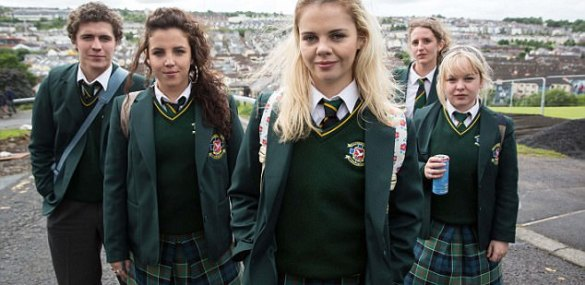 The Badger Reviews: Derry Girls