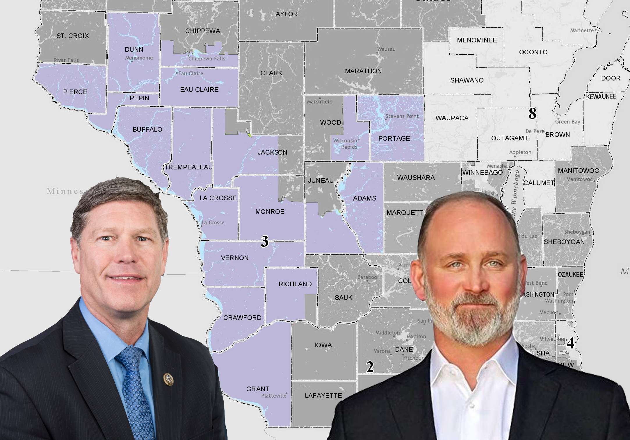 Here's who donated to the only competitive Congressional district in Wisconsin